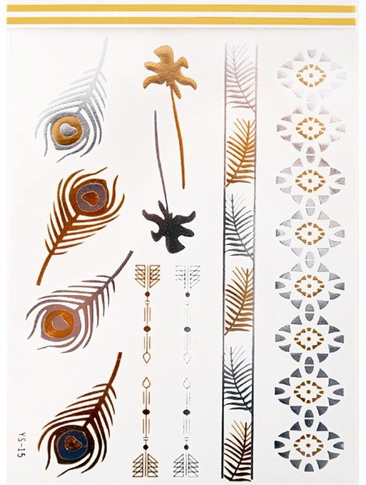 Metallic Tattoos - Saule Boutique  - 1