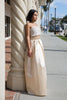 Ayla Champagne Ball Gown Skirt - Saule Boutique  - 2