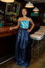 Ayla Navy Ball Gown Skirt - Saule Boutique  - 2