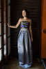 Ayla Charcoal Ball Gown Skirt - Saule Boutique  - 3