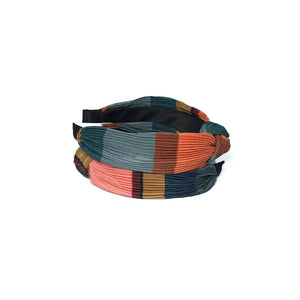 PLEATED GEOMETRIC HAIRBAND