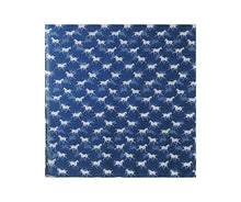 Load image into Gallery viewer, NAVY HORSE PRINT SCARF