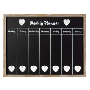 FARMHOUSE WEEKLY CHALKBOARD PLANNER