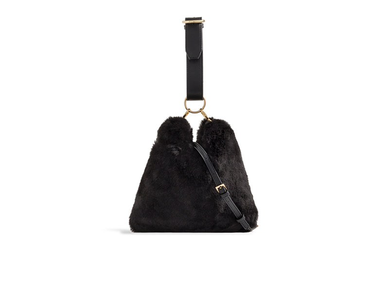 LARGE FAUX FUR SUPER SOFT HANDBAGS CHOOSE FROM 7 AMAZING COLOURS
