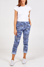 Load image into Gallery viewer, CAMOFLAGE MAGIC TROUSERS CHOOSE FROM 5 COLOURS