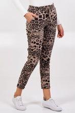 Load image into Gallery viewer, LEOPARD MAGIC TROUSERS CHOOSE FROM 4 COLOURS