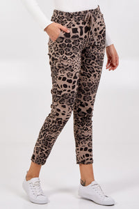 LEOPARD MAGIC TROUSERS CHOOSE FROM 4 COLOURS