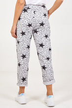 Load image into Gallery viewer, LEOPARD STAR JOGGERS GREY