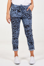 Load image into Gallery viewer, CHEETAH PRINT MAGIC TROUSERS CHOOSE FROM 7 COLOURS