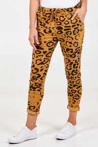 CHEETAH PRINT MAGIC TROUSERS CHOOSE FROM 7 COLOURS