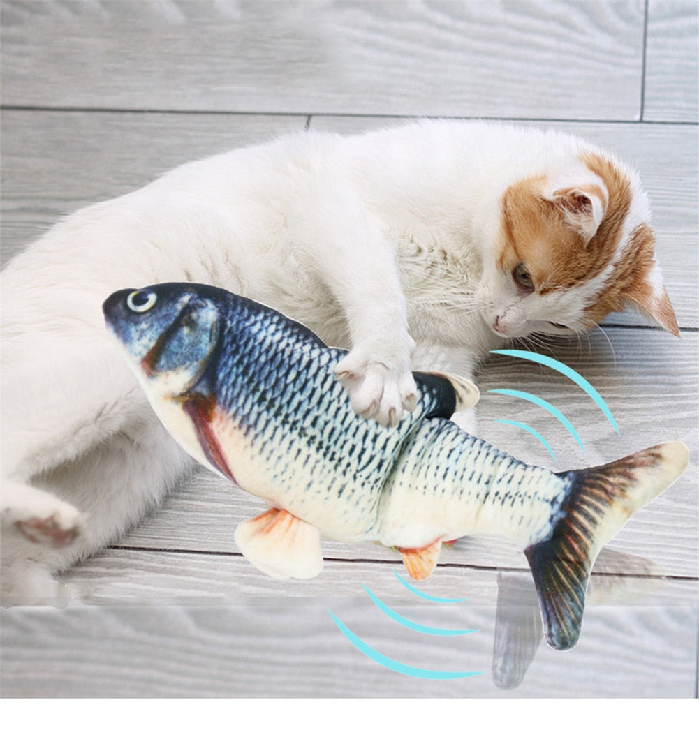 PetPal™ Moving Fish Cat Toy