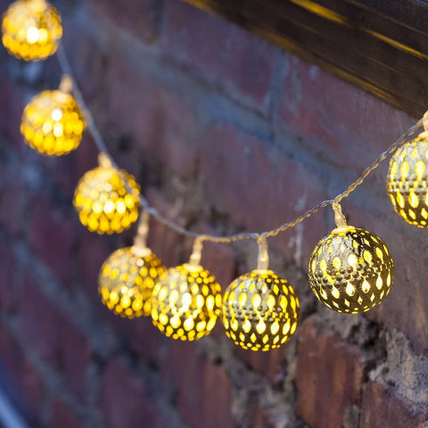 Moody™️ Christmas LED Globe String Light