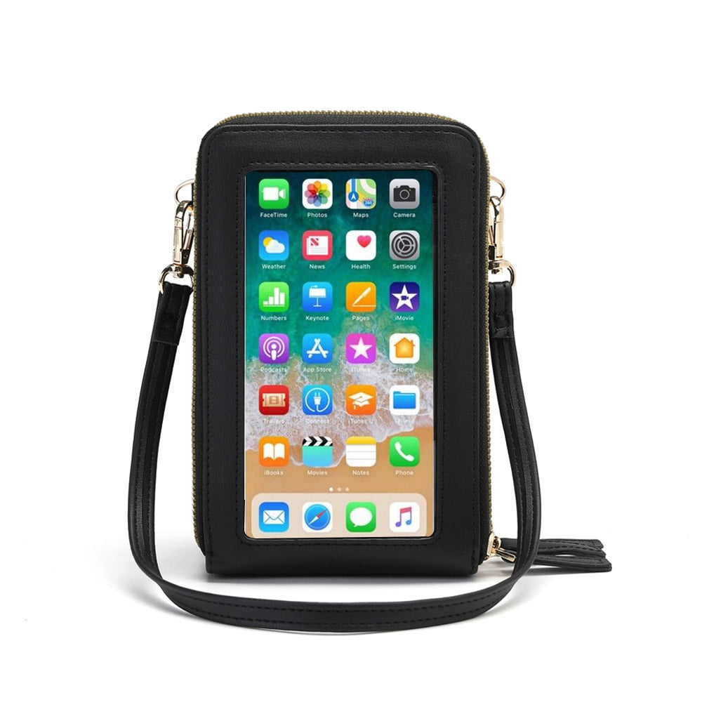Touch Screen Cell Phone Purse