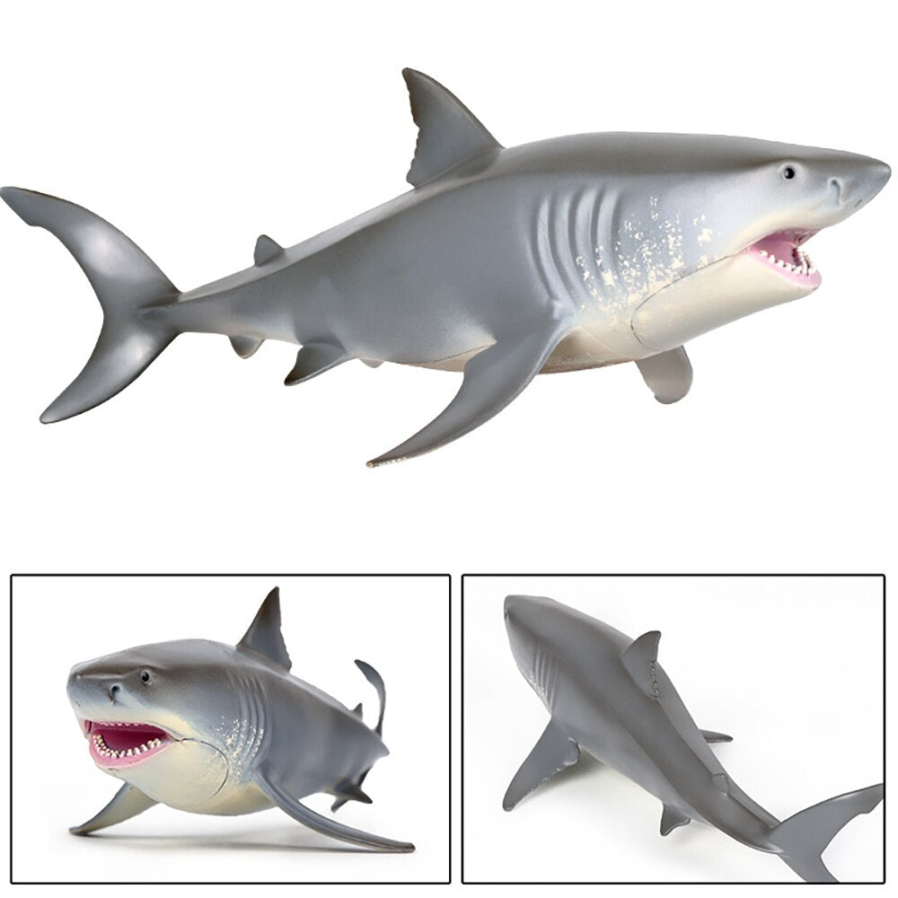 Lifelike Baby Shark Toy Anti Stress Squeeze Big Shark Collection Toy For Kid Gift