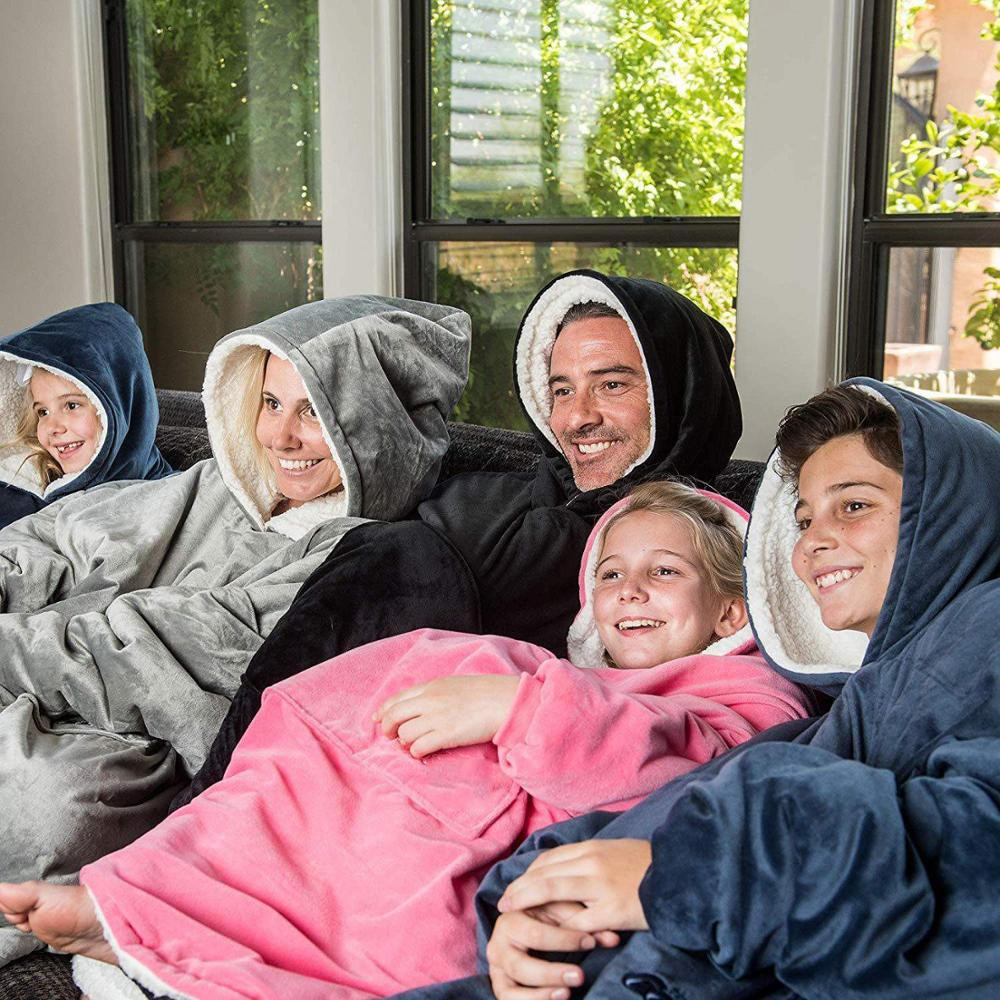 Moody™️ hooded blanket for adults