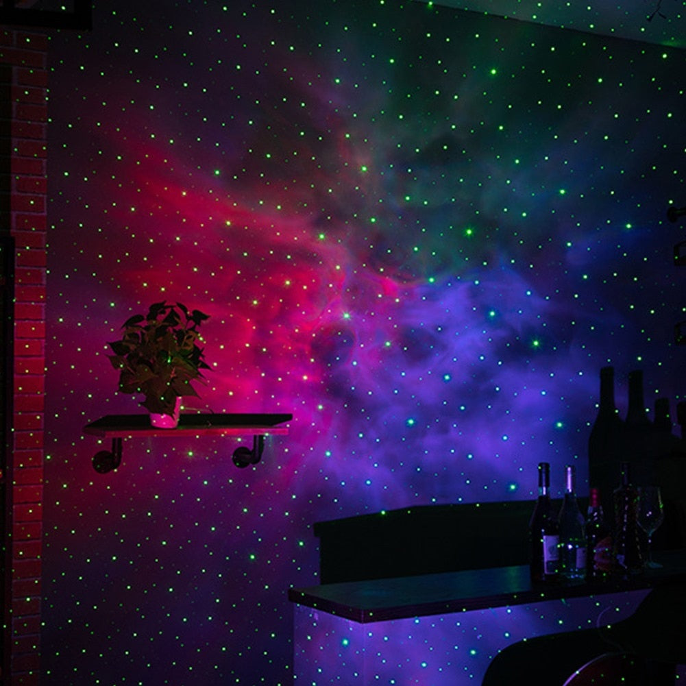 Galaxy Starry Sky LED Projector Lamp-Northern Lights