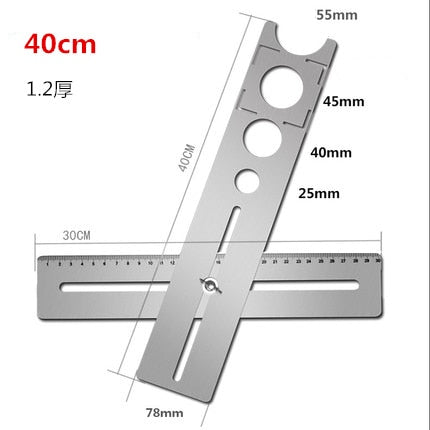 Moody™ Adjustable Tile Locator to Wall Marking Position Ruler ceramic hole cutter tile drill Marble Opener construction tool