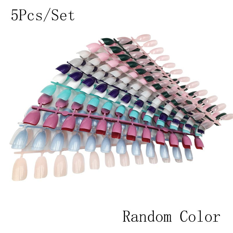 500Pcs Short Edge nail tips