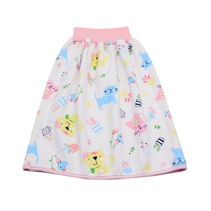 Moody™ Infant Children Waterproof Diaper Skirt - Washable Reusable Urine Pad