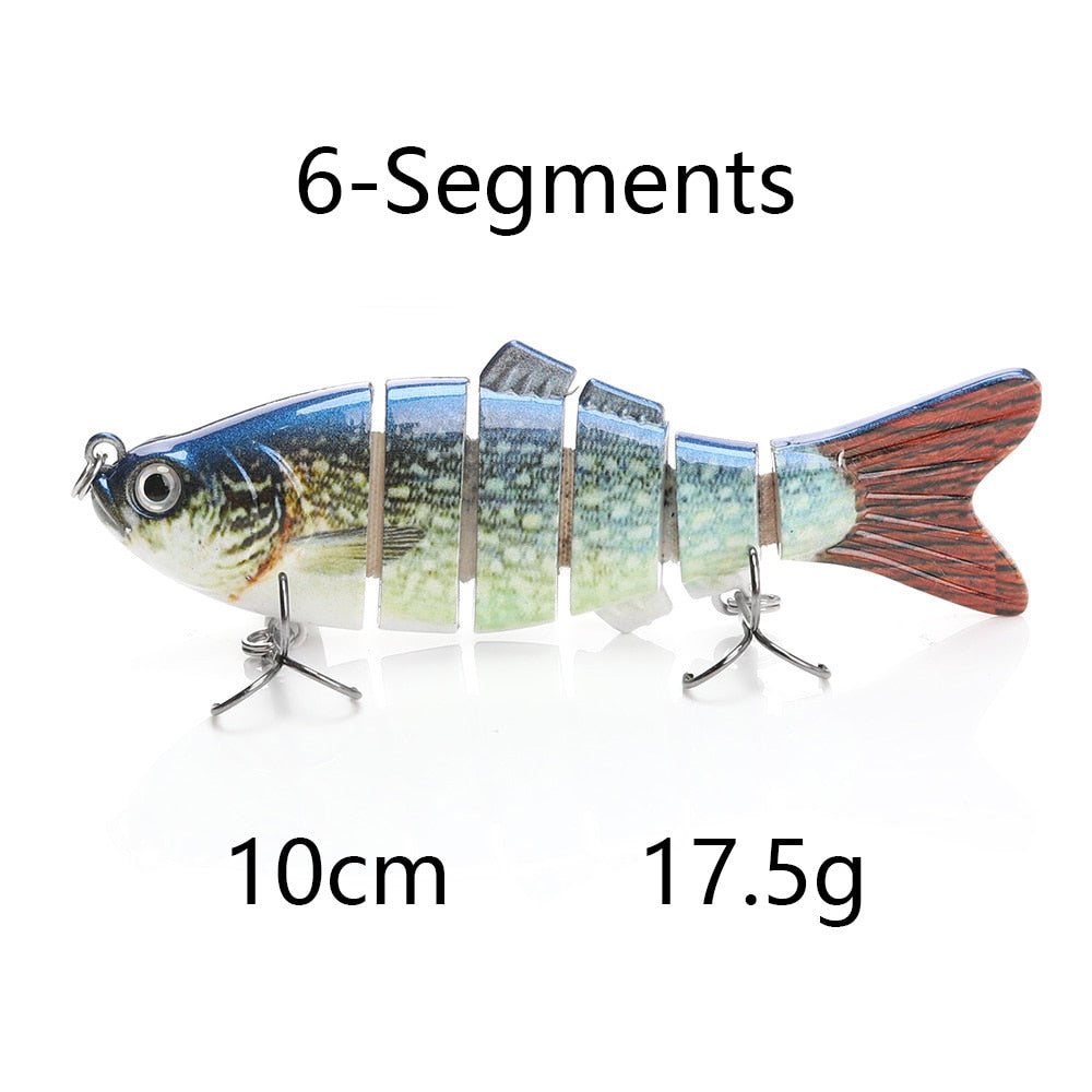 VTAVTA™ 1pc Multi Jointed Hard Bait - Artificial Fishing Lure