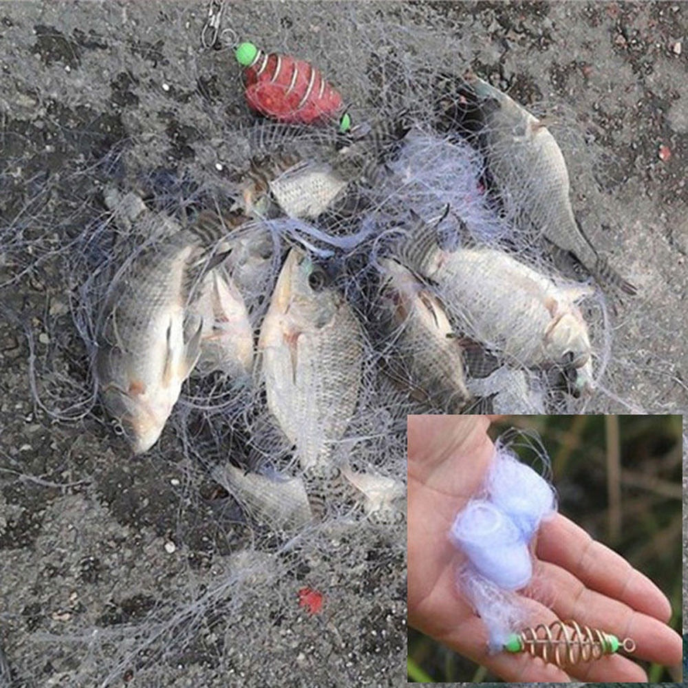 Copper Spring Shoal Sticky explosion bale Fishing Net