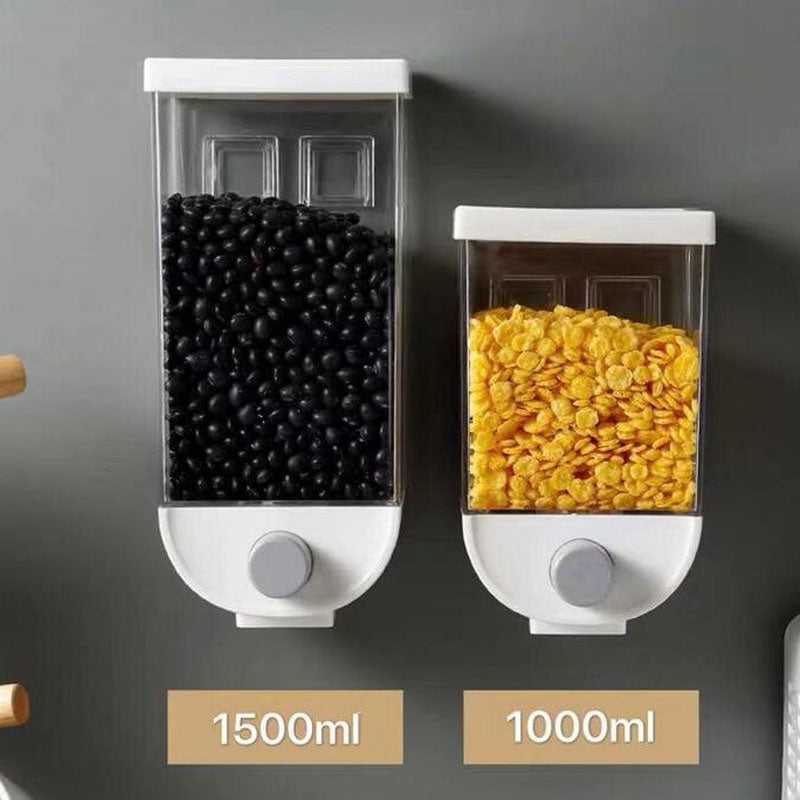 Wall mounted Dry Food Dispenser 1000/1500ml