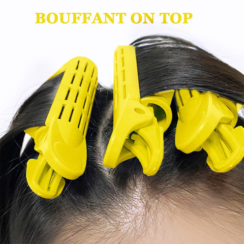 Hair Curler Clips Clamps Roots Perm Rods Styling Rollers Fluffy DIY Hair Tools Lightweight Easily Carrying Hair Part for women