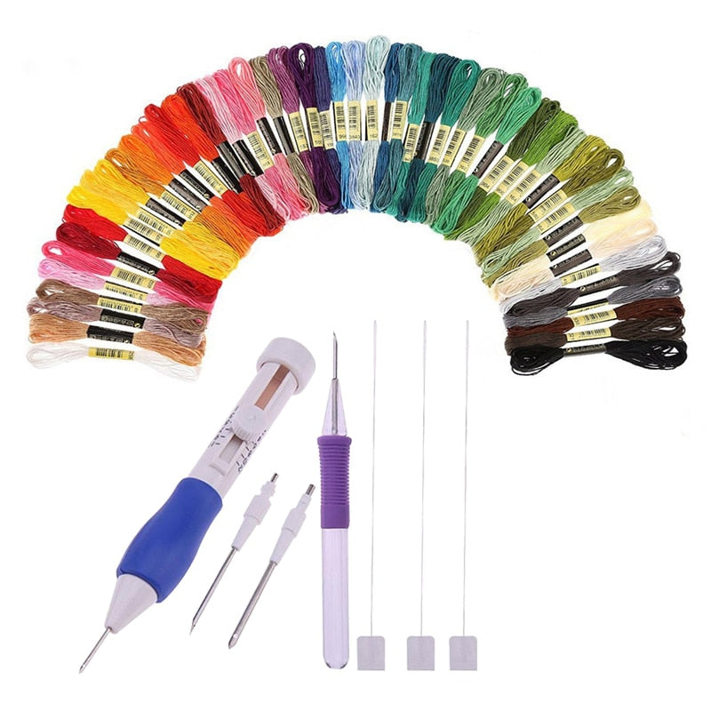 Embroidery Stitching Punch Needles