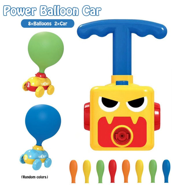 Moody™️ Balloon Launcher Car Toy Set
