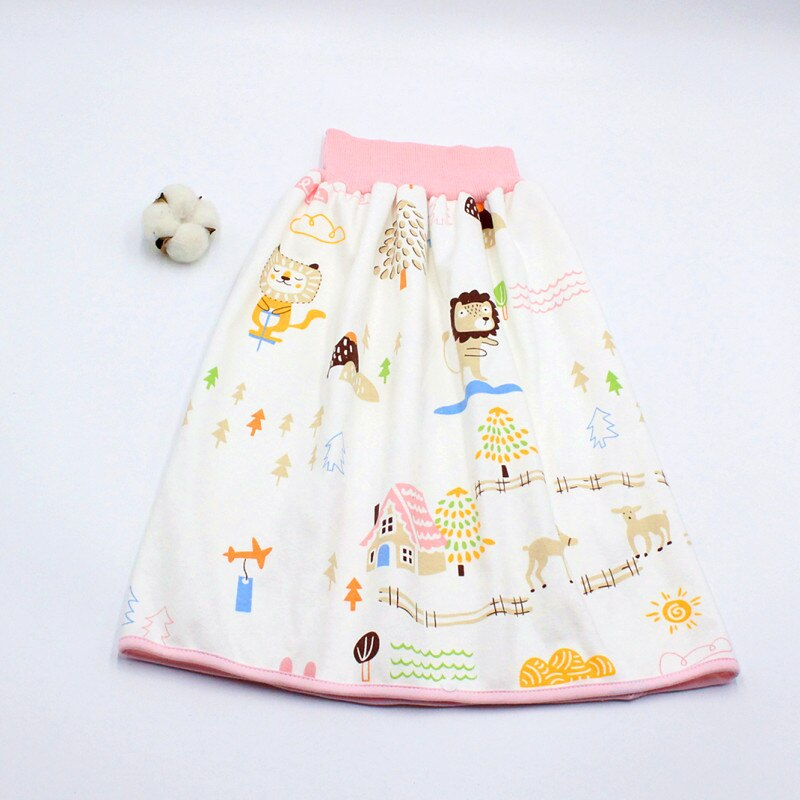 Infant children waterproof diaper skirt washable Reusable Urine Pad baby cotton diaper Newborn Training Nappy Changing