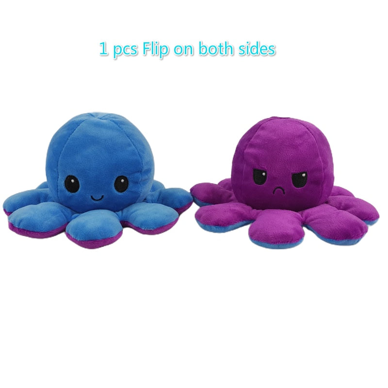 Moody™ REVERSIBLE OCTOPUS PLUSH TOY