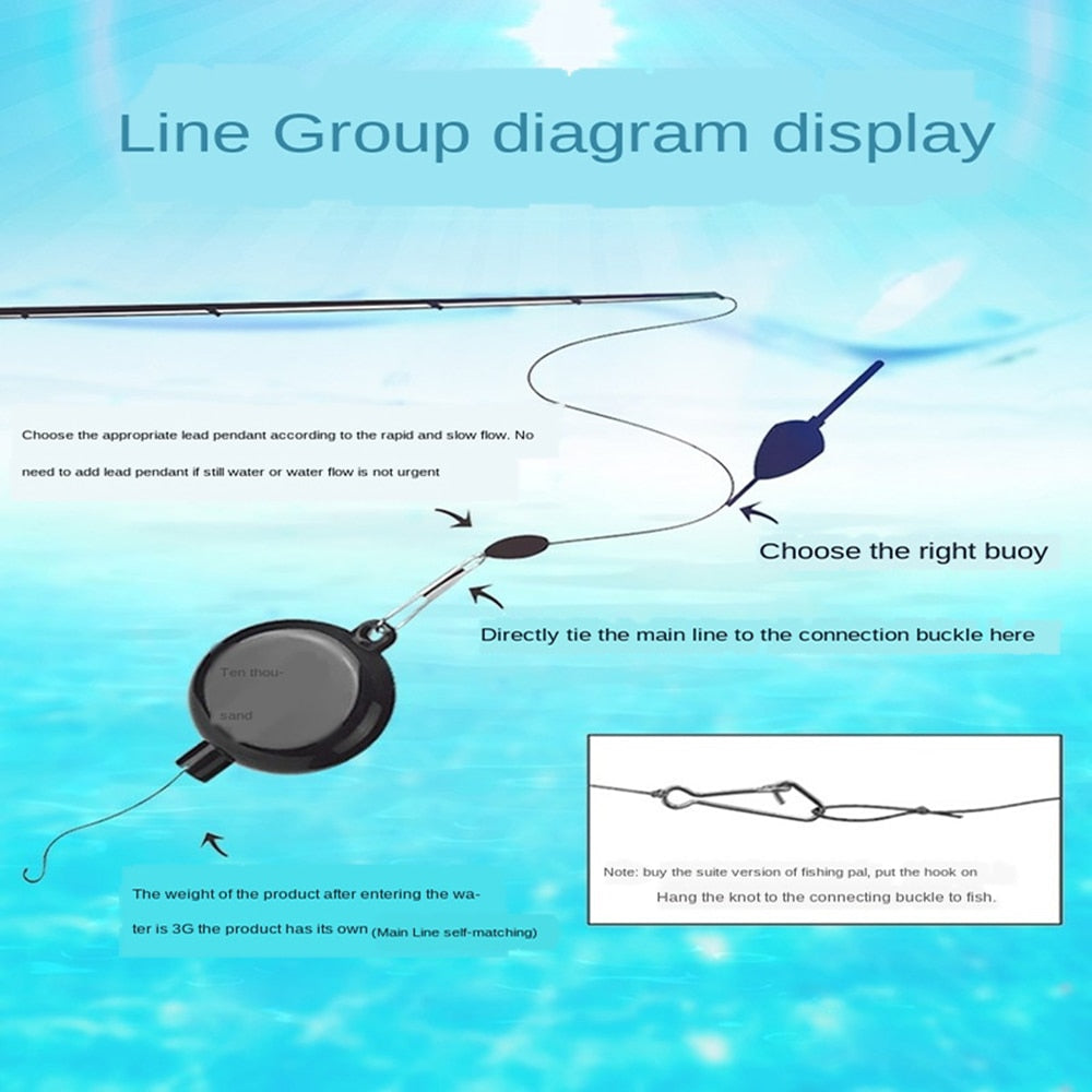 JiuYu™️ Automatic Fishing Hook