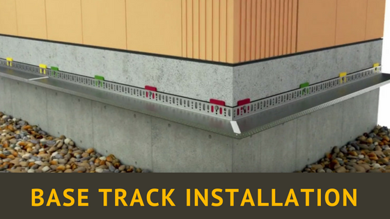 How to install Base Tracks for EWI / ETICS Systems