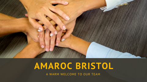 Big welcome to the newest member of the Amaroc Team