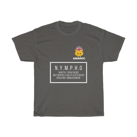 Unisex Heavy Cotton Tee - Drylining Forum Charity - NYMPHO