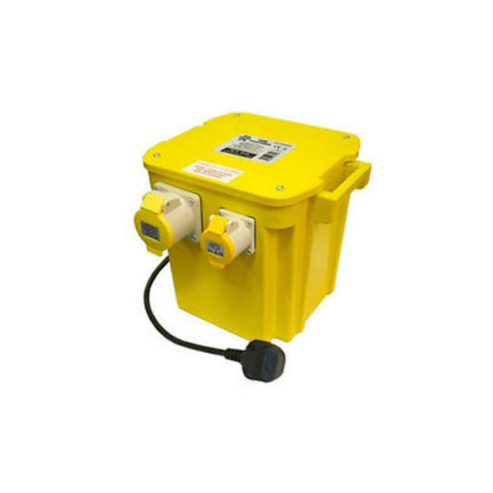 Faithfull 5 KVA Triple Outlet Transformer - Amaroc - Render & External Wall Insulation Supplies