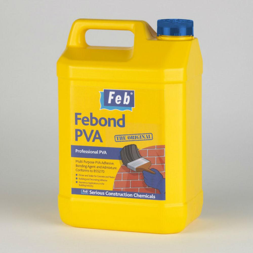 Adhesive - Feb Febond PVA - The Original - 25 Ltr