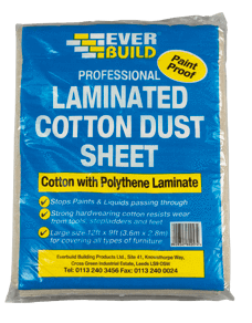 Drylining Accessory - Everbuild Laminated Dust Sheet