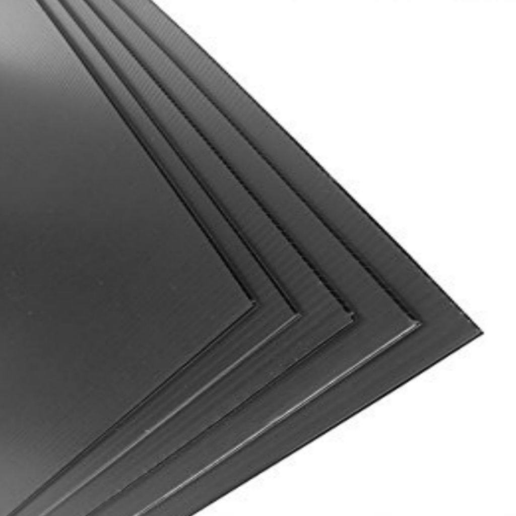 Floor Protection - Correx PP Sheet Black - Floor Protection