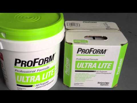 ProForm Ultra Lite All Purpose Joint Compound 13L box