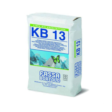 Lime Plaster - Fassa KB13 Lime Base Coat Plaster
