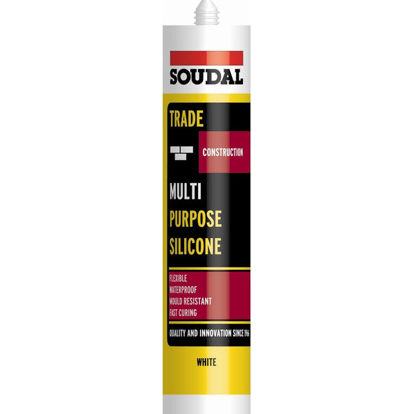Soudal Multi Purpose Silicone - 300mL - Amaroc - Render & External Wall Insulation Supplies