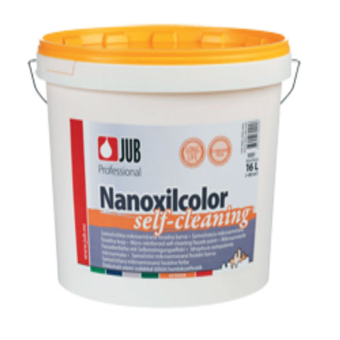 Paint - Jub Nanoxilcolor 16ltr - Self-cleaning Micro-reinforced Façade Paint