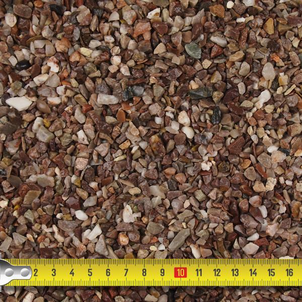 Pebble Dash - Staffordshire Pink Pebble Dash 6mm - 25kg