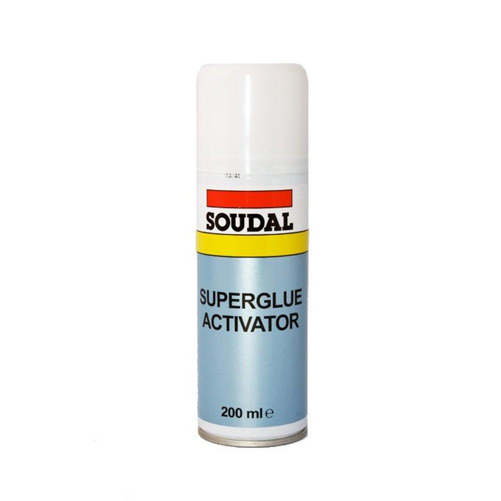Sealants - Soudal Superglue Activator - 200mL