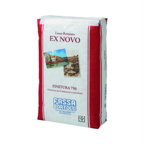Top Coat - Fassa Finitura 750 - 3,5 Natural Hydraulic Lime - Finish Coat