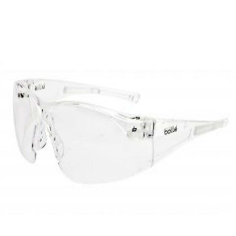 Workwear - Bollé Rush Safety Glasses - Clear