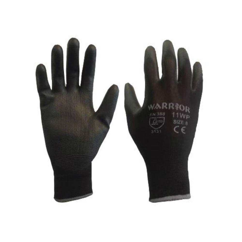 Workwear - Warrior PU Gloves - Pack 0f 10