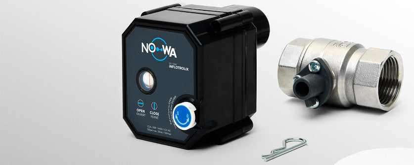 Nowa 360 wireless water leak detection system