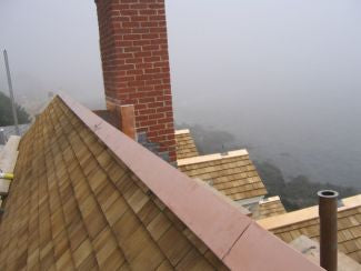 new roof flashing